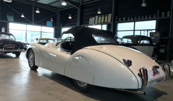Jaguar XK120 ivoire full