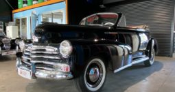 Chevrolet fleetmaster cabriolet 4 places